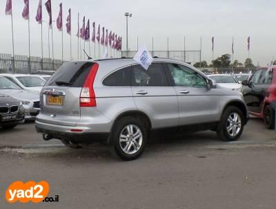 הונדה CR-V 2012 2000 כסוף full